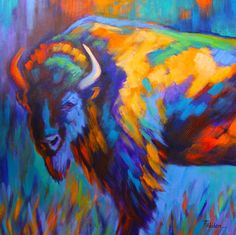 Image from http://images.fineartamerica.com/images-medium-large-5/majestic-bison-theresa-paden.jpg.