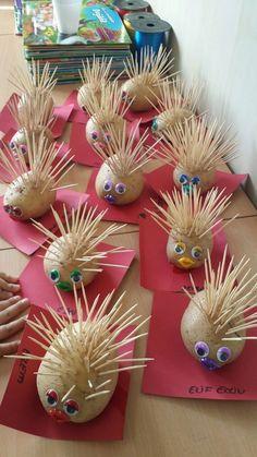 Hedgehog – # Hedgehog - Easy Crafts for All Toddler Crafts, Diy Crafts For Kids, Arts And Crafts, Autumn Crafts, Summer Crafts, Kindergarten Art, Preschool Crafts, Toddler Activities, Preschool Activities
