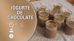 iogurte de chocolate