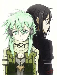 Kinon. Don't really ship it much but Sinon is one of my fave characters. | Sword…