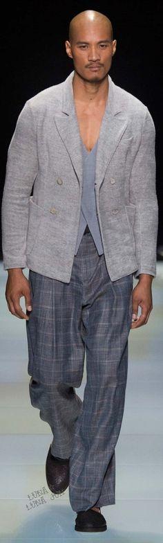 Giorgio Armani Spring 2016 Menswear