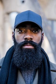 Bearded Baes   - #MCE: These Black Men With Beards Are Here To Make Your Day