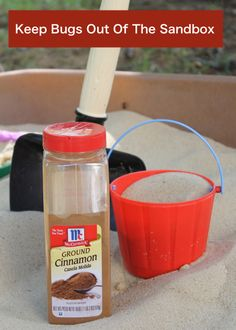 Have a cool sandbox but don't want your kids to play in it because of all the bugs?  Even with a sandbox cover, the bugs seem to get in and spoil the fun.  The solution is easy!  Just add cinnamon before you add the sand.  If you already added the sand to your sandbox, move …