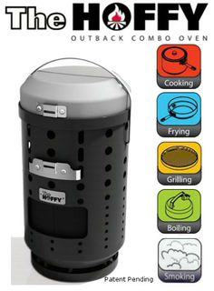 The Hoffy: an all in one cooking system. Looks great