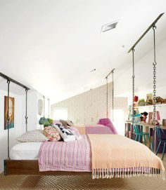 another great hanging bed