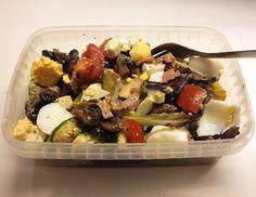 Rijkgevulde lunchsalade