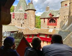 Castle Coch - Welsh castle - August 2017