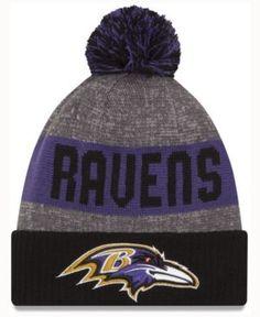 New Era Baltimore Ravens Sport Knit - Black Adjustable