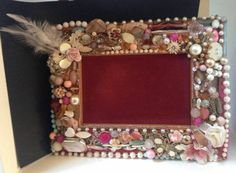 Check out this item in my Etsy shop https://www.etsy.com/uk/listing/266520868/beaded-hand-decorated-picture-frame-with