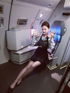 Trust Me I/'m A Flight Attendant Design Large Filled Cushion Cover cabin crew