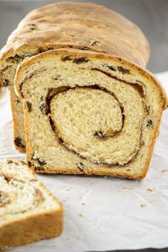 Cinnamon Raisin bread. With just a handful of ingredients, this bread recipe is easy enough to whip up with items you may already have on hand.