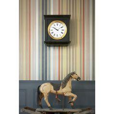 Cole And Son, Striped Wallpaper, Stripe Print, Retro, Carousel, Damask, Clock, Stripes, Prints
