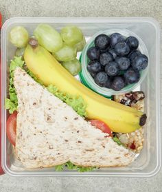 Brown bag lunches