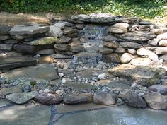 disappearing waterfall | Pondless Waterfall in Capitol Heights, MD