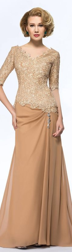 Wedding Dresses Ball Gown, Glamorous Lace V-neck Neckline Sheath Mother Of The Bride Dresses With Beadings DressilyMe Sexy Wedding Dresses, Cheap Wedding Dress, Bride Dresses, Long Mothers Dress, Mothers Dresses, Mother Of The Bride Suits, Mother Of Groom Dresses, Ball Dresses, Ball Gowns