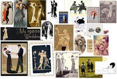 Art Deco- Wedding Invitation Inspiration
