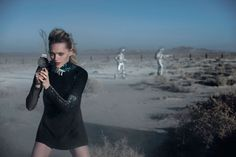 Sasha Pivovarova + Natalie Westling Are Sci-Fi Chic in Peter Lindbergh Story for W Sasha Pivovarova, Peter Lindbergh, Apocalypse Now, W Magazine, Apocalyptic Fashion, Russian Beauty, Art Director, Miu Miu, Editorial Fashion