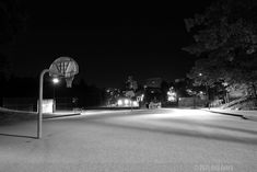 Streetcourt. Black and White Photography #Street #court #Basketball