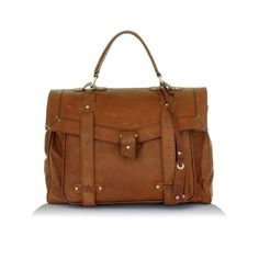 Leather satchel | womens satchels, luxury leather satchel bag ($875) ❤ liked on Polyvore