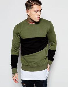 Image 1 of Criminal Damage Panel Sweatshirt