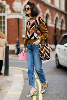Street style - London Fashion Week 2016 (=)