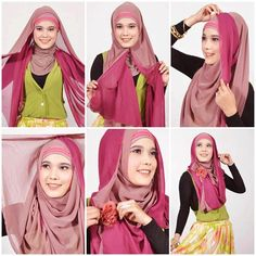 Top 20 Hijab Styles Of 2013 For Girls