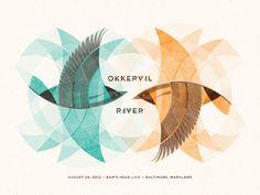 GigPosters.com - Okkervil River