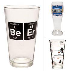 Geek Pint Glasses