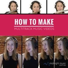 How to make multitrack music videos, and how to use this concept in your music classroom. #musictechnology #musiceducation #musictechteacherpodcast