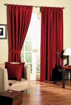 Las cortinas son vitales para mantener el calor en el hogar