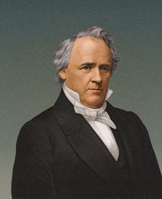 James Buchanan (1791 - 1868), fifteenth president of the United States of America.