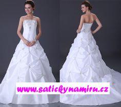 Svatební šaty KAMILA One Shoulder Wedding Dress, Wedding Dresses, Fashion, Bride Dresses, Moda, Bridal Gowns, Fashion Styles, Wedding Dressses
