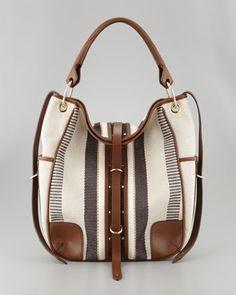Nash Raffia Hobo Bag by Belstaff at Neiman Marcus.