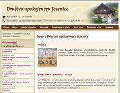 Spletna stran Društva upokojencev jesenice http://duj.si/