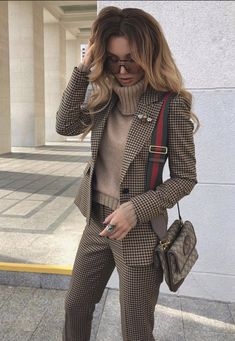 20+ Professional and Cute Fall Outfits for Women – TSMB Casual Work Outfits, Cute Fall Outfits, Mode Outfits, Stylish Outfits, Women Fall Outfits, Cute Professional Outfits, Classy Outfits For Women, Suit Fashion, Work Fashion