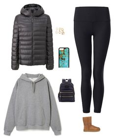 """""""#MONDAY💨"""" by jadesfit on Polyvore featuring Uniqlo and UGG"""