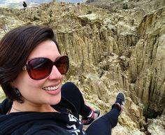 Vale de la Luna   #selfie #lapaz #bolivia #southamerica #suramerica #backpacking #mochilando #trip #travel #traveling #traveler #instatravel #igtravel #travelgram #explore #landscape #wanderlust #liveoutdoors by tati__teixeira