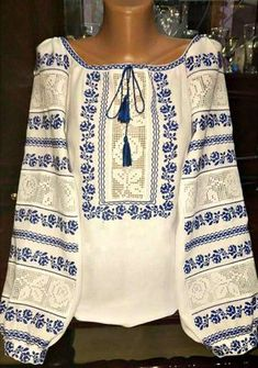 Grand Sewing Embroidery Designs At Home Ideas. Beauteous Finished Sewing Embroidery Designs At Home Ideas. Ethnic Fashion, Boho Fashion, Womens Fashion, Beautiful Pakistani Dresses, Learning To Embroider, Palestinian Embroidery, Embroidery Techniques, Embroidered Blouse, Embroidery Patterns