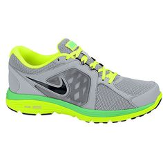 b463af448d588 Nike Dual Fusion Run - Men s - Wolf Grey Black Poison Green Volt