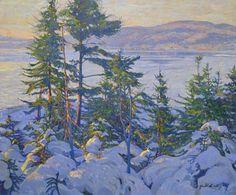 Garth Armstrong - Lake Misquari Haliburton 30 x 36