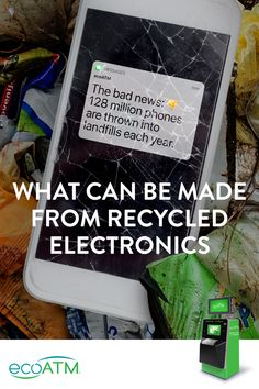 What happens to all the old electronics? They usually end up in one of three places — a recycling center, a secondhand retailer or a landfill. Find out how e-cycling your electronics will help the environment.