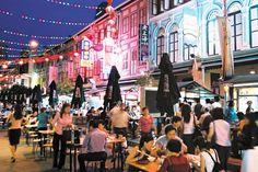 #ChinaTown #FoodStreet in Singapore.