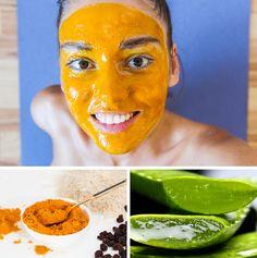 Qué sucederá si comes cúrcuma durante un mes - Natural Face, Natural Skin Care, Turmeric Face Mask, Les Rides, Tips Belleza, Facial Masks, Body Works, Wellness, Body Care