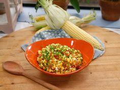 No-Cream Creamed Corn with Applewood Smoked Bacon recipe from Geoffrey Zakarian via Food Network