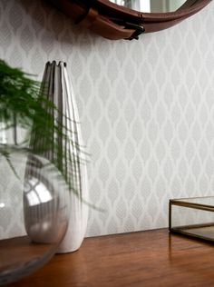 Furniture, Wall Wallpaper, Interior, Hanging Chair, Deco, Wall, Home Decor, Glass Vase, Inspiration