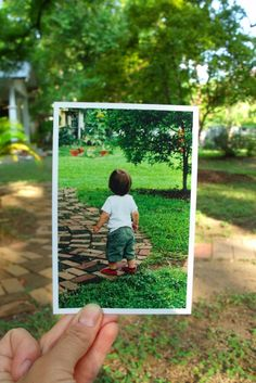 Dear Photograph,    Can you tell him to turn around? I wanna see that cute little baby face again.  Thanks,  Nicole