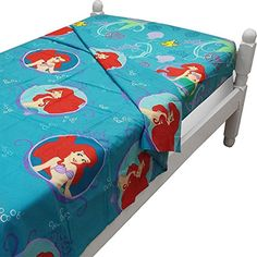 Ariel Little Mermaid Gleaming Twin Size Sheet Set *** You can find out more details at the link of the image.