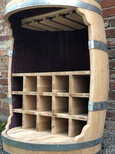 Wine Barrel Crafts, Wine Barrel Bar, Bourbon Barrel, Whiskey Barrels, Diy Furniture Plans, Rustic Furniture, Tonneau Bar, Whiskey Barrel Furniture, Barrel Projects