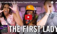 """First Lady Michelle Obama Carpool Karaoke  It was only a matter of time folks… James Corden's White House tour takes an unthinkable turn when First Lady Michelle Obama joins him for a drive around the grounds singing Stevie Wonder and Beyonce. Surprise guest Missy Elliott drops in to sing """"This Is For My Girls.""""..."""