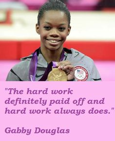 gabby douglas quotes - Google Search